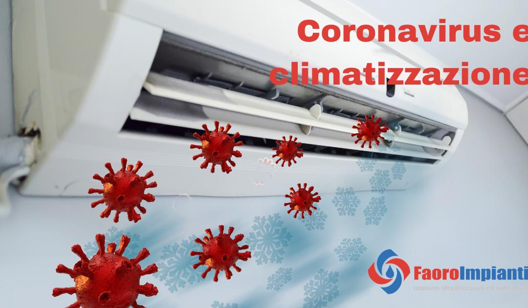 Coronavirus e la climatizzazione degli ambienti